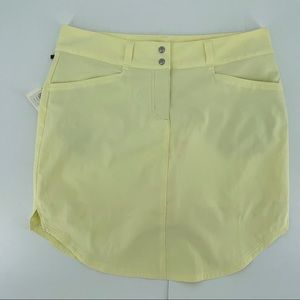 Adidas Yellow Tennis Skort New